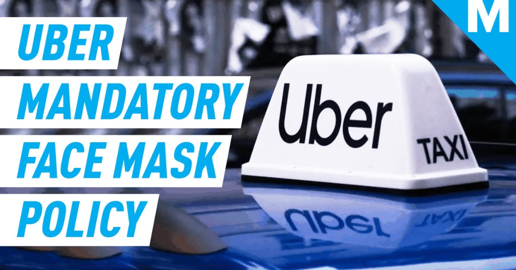 Uber drivers and passengers will be required to wear face masks in the U.S.