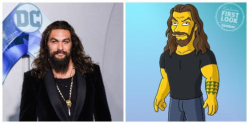 Jason Momoa to guest star in The Simpsons - Entertainment - Mashable ME