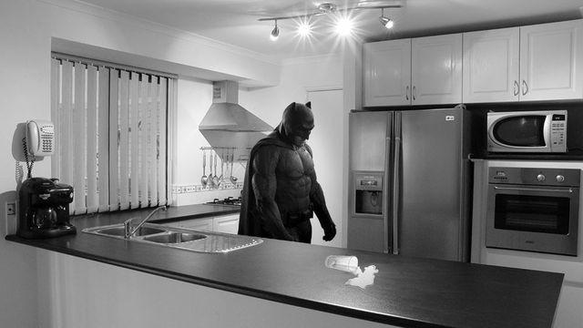 Batffleck Is the Saddest Batman in Gotham City