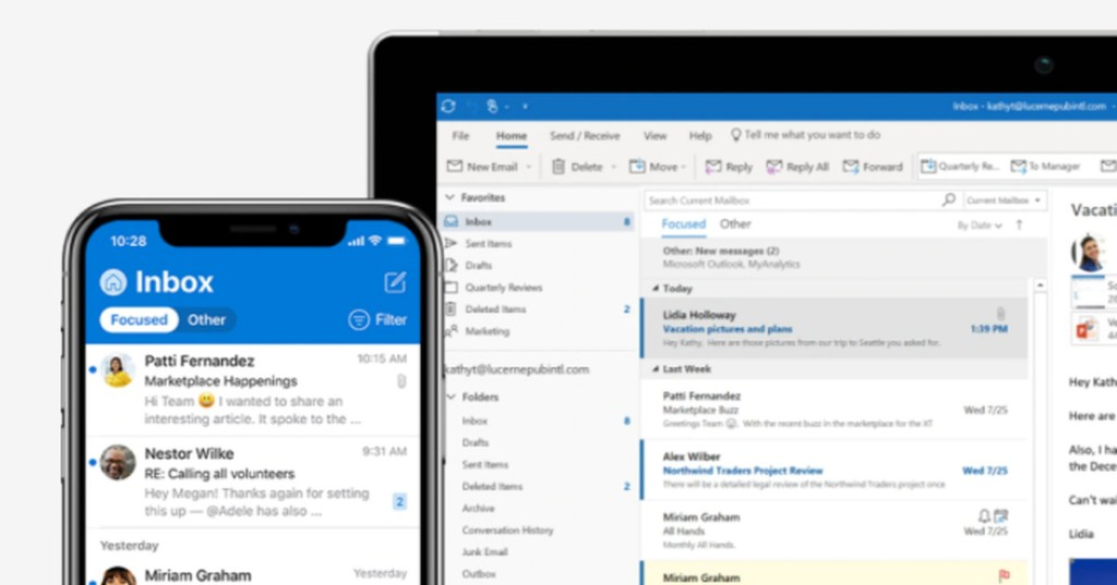Microsoft Outlook is getting text predictions, 2 years after Gmail
