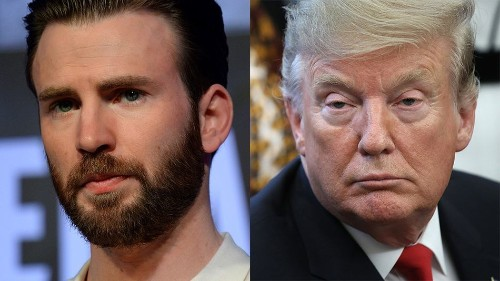 Captain America just absolutely destroyed Trump's latest tweet about global warming