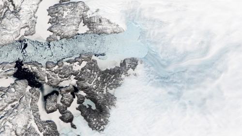 Greenland's fastest-melting glacier has stalled. But that's bad news.