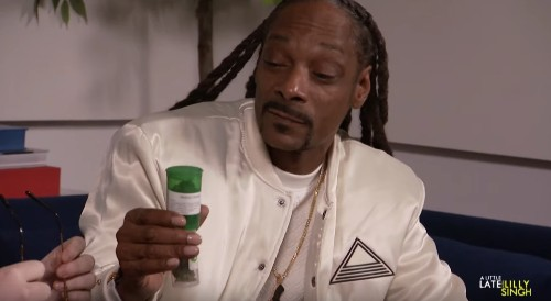 Snoop Dogg Casually Hands Out Weed To Lilly Singh's Staff - Entertainment