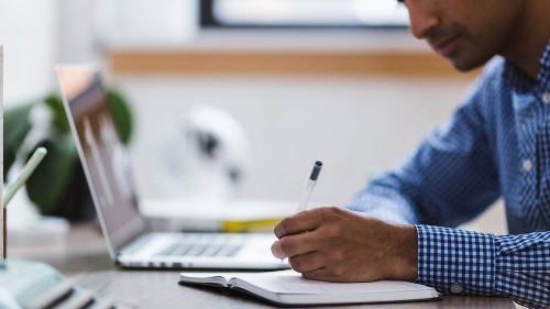 Take an online class in business management and skip the MBA