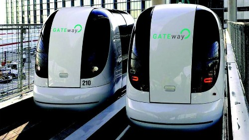 These are the first driverless cars in London