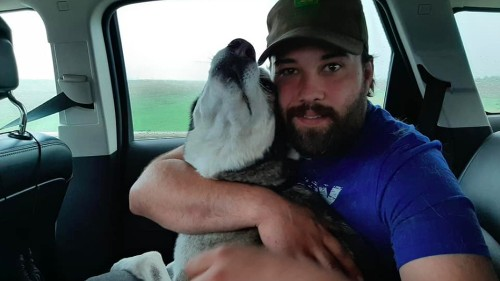 Watch this man's emotional reunion with his dog who was lost for 3 years