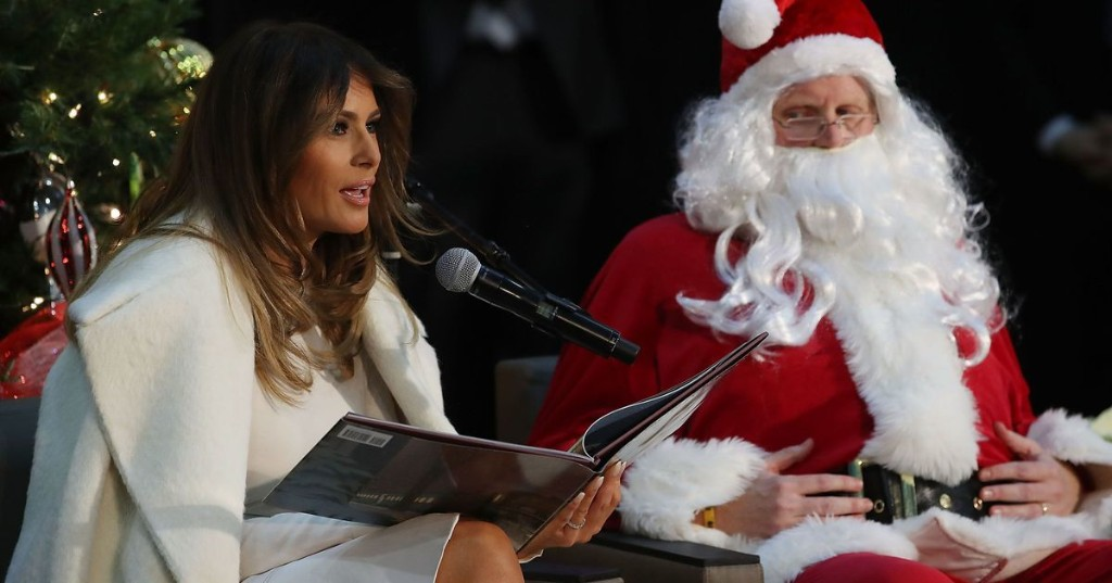 2017: Melania Trump gave her one true holiday wish. And it's everything we hope for.