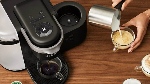 This Keurig K-Cafe coffee and espresso maker is $80 off for Prime Day