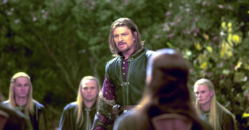 The 'Lord of the Rings' Mordor meme happened because Sean Bean kept the script in his lap