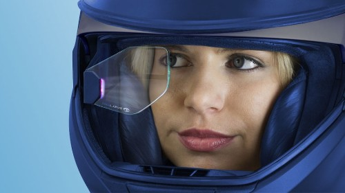 DigiLens helmet adds augmented reality view for motorcyclists