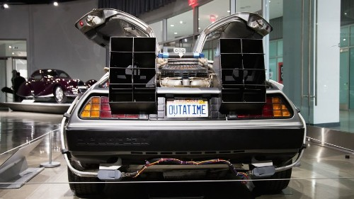 Great Scott! Tesla hides 'Back to the Future' Easter egg on app