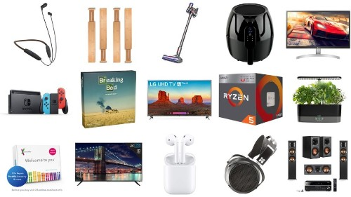 Nintendo Switch sale, plus deals on Dyson V7, 23andMe, AeroGarden, AMD Ryzen, and more for May 11