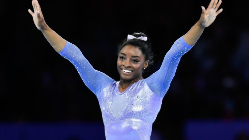Simone Biles crowned female athlete of the year by Team USA