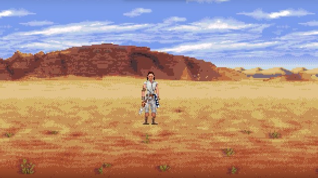 'Star Wars: The Rise of Skywalker' trailer gets classic 16-bit treatment for May the Fourth