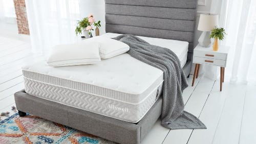 Rest easy with 10% to 20% off Allswell hybrid mattresses