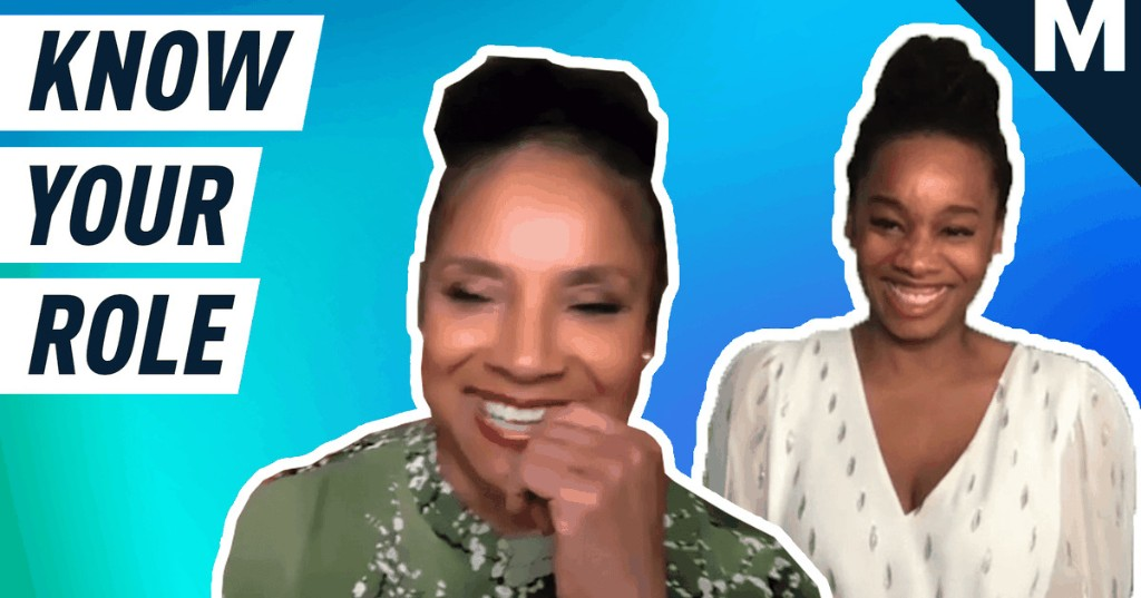 Phylicia Rashad and Anika Noni Rose test their holiday movie knowledge