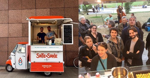 Malaysian opens up satay foodtruck in Italy to attract Asians. He gets 90% Italian customers instead. - Culture