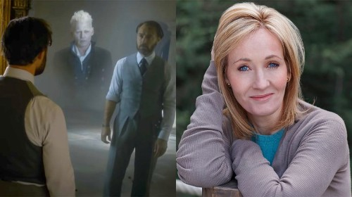 J.K. Rowling reveals Dumbledore and Grindelwald shared an intense 'love' relationship