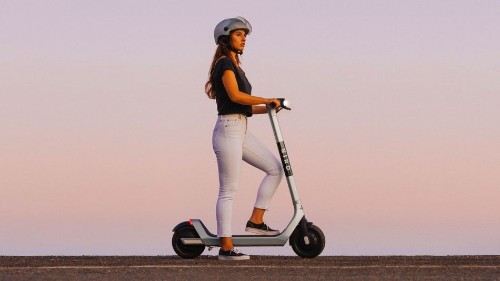 Bird's newest e-scooter is bigger, bulkier, and silver