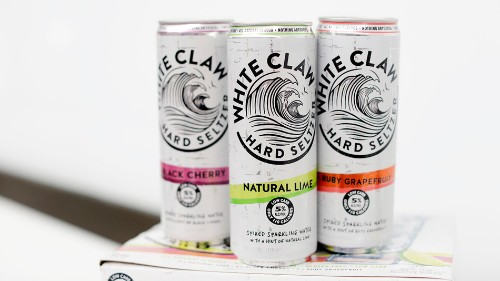 DoorDash, White Claw fastest growing brands in new report, confirming people just want to get drunk at home