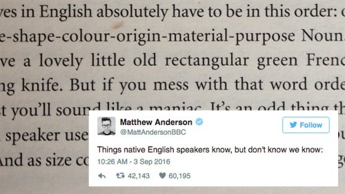 This 1 piece of crucial English speaking advice is sending the internet wild