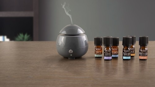 Relax with this essential oil diffuser on sale for $16