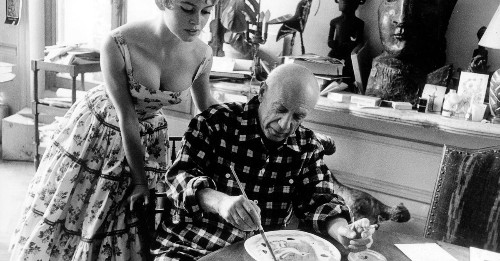 When Brigitte Bardot met Pablo Picasso, notorious ladies man