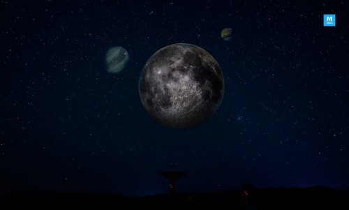 The Moon Will Be Sharing the Sky With Two Planets This Month!