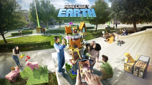 Minecraft to release new augmented reality game 'Minecraft Earth'