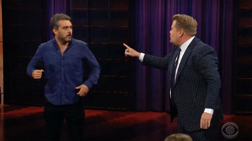 James Corden's audience Q&A descends into chaos after guest does brutal impression of him - Entertainment - Mashable SEA