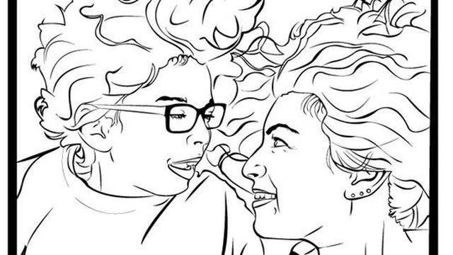 The 'Badass Feminist Coloring Book' already tripled its Kickstarter goal