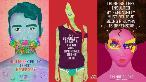 Art series breaks LGBTQ stereotypes with striking illustrations