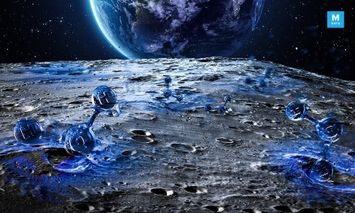 There Are Water Molecules On The Surface Of The Moon, And They Are Moving!