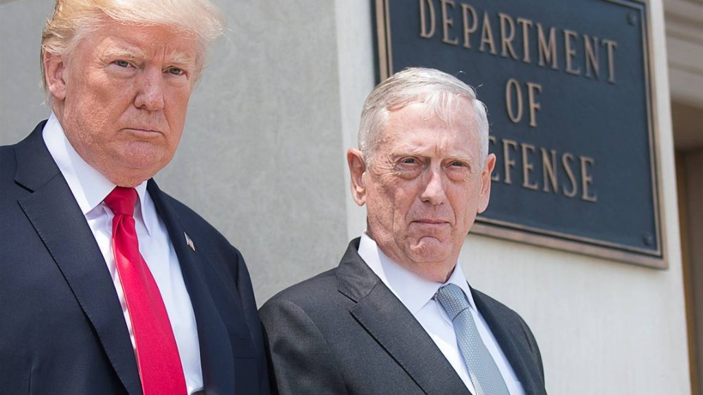 Military leadership, Mattis defend protester rights amid Trump threat to send troops