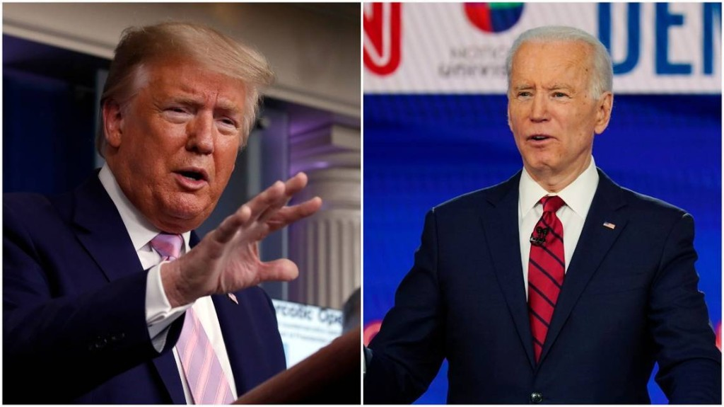 Did Trump call coronavirus a hoax? What about Biden? Here's what the transcripts say