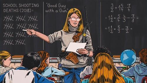 When You Give a Teacher a Gun