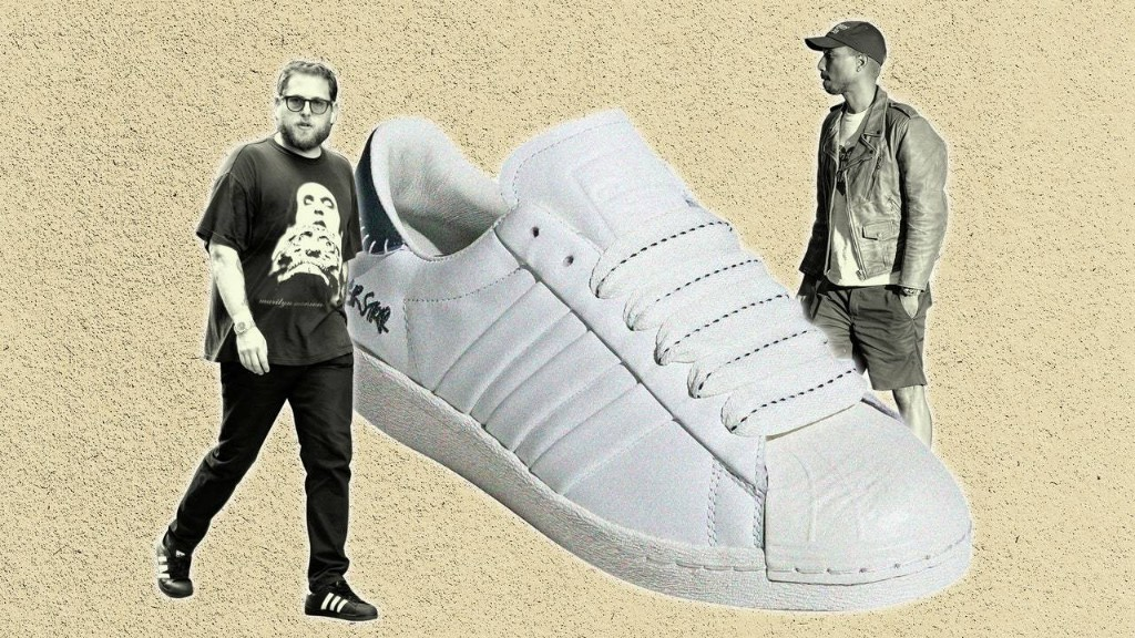 Jonah Hill and Pharrell, Both Superstars, Now Have Their Own Adidas Superstars