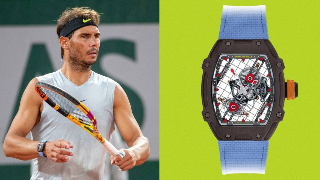 Rafael Nadal Wore His Brand-New Million-Dollar Watch at the French Open
