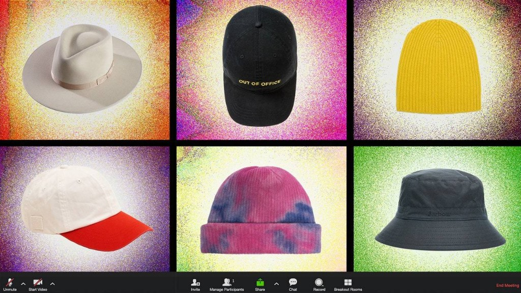 Why Are Men Wearing Hats on Zoom?