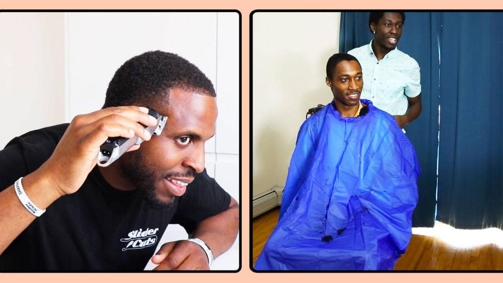 Watch a Pro Barber Coach a Total Novice Through a Skin Fade Haircut