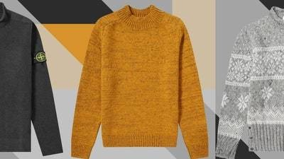 A Mock-Neck Sweater is a Turtleneck Without the Commitment