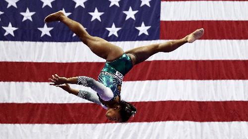 Simone Biles's Insane Floor Routine Made Gymnastics History
