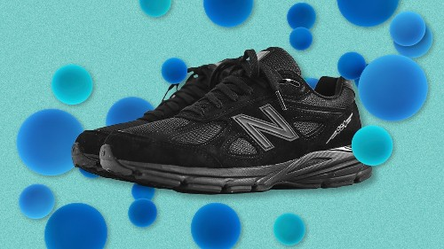New Balance's Ultimate Dad Sneaker, Now in Triple Black