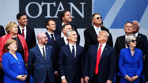 What Is Donald Trump Looking At?