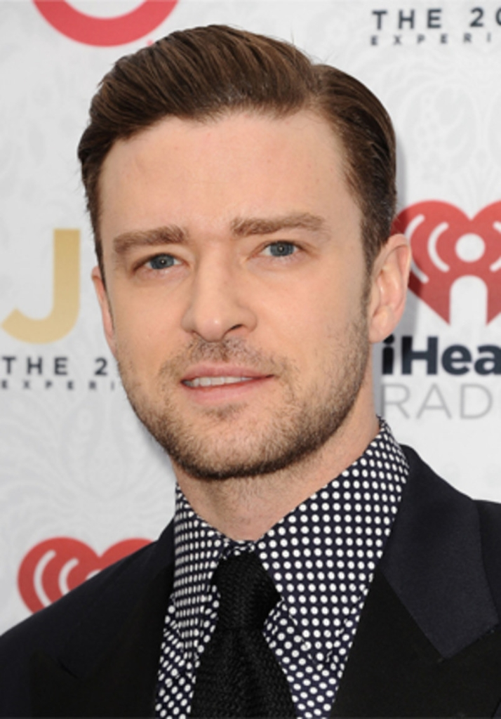 Justin Timberlake's Hair Style - Magazine cover