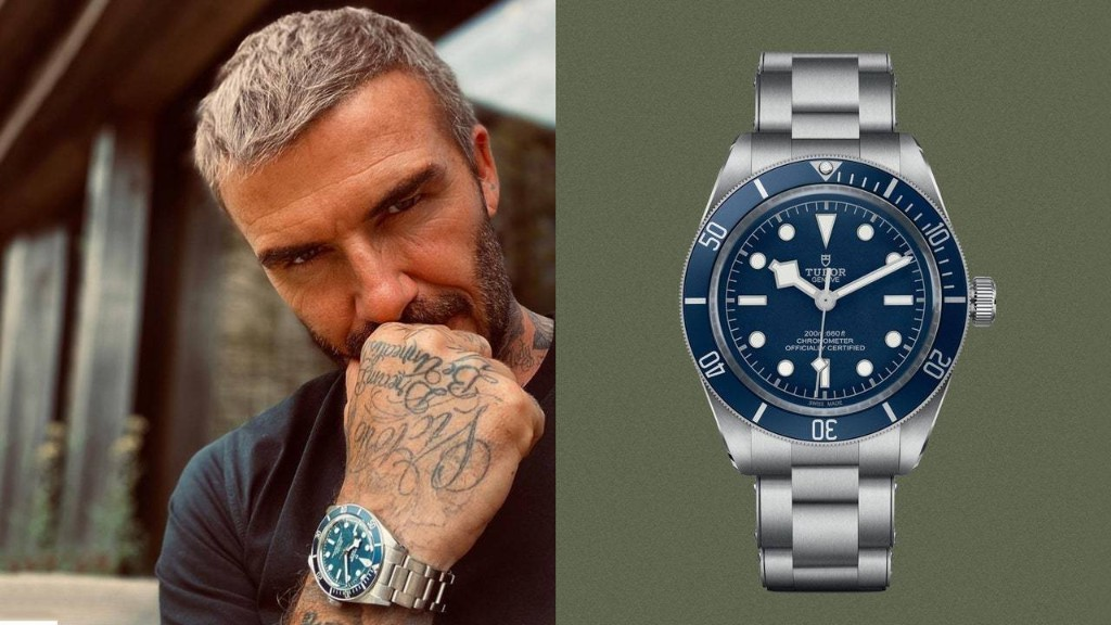David Beckham Wears the Watch World's Hottest New Release