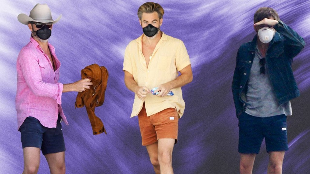 Chris Pine, the Wisest Hollywood Chris, Loves These $65 Shorts