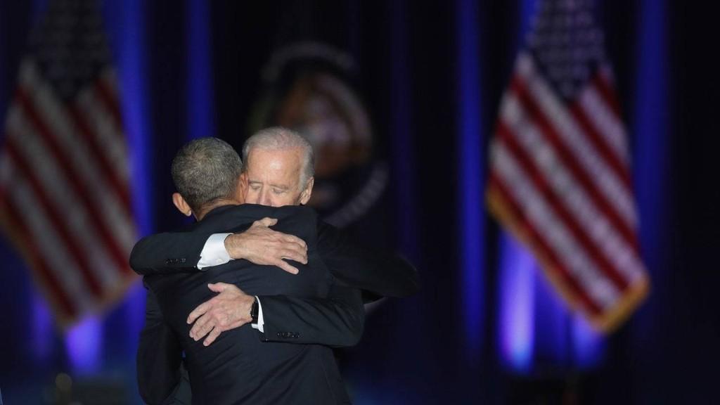 Barack Obama and Joe Biden's White House Bromance Had One Last Beautiful Moment