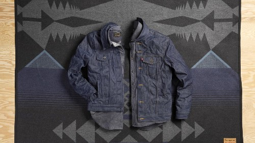 Your Levi's Jean Jacket Just Got a Pendleton Upgrade