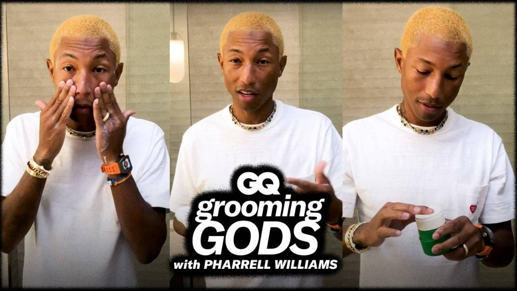 Pharrell Dropped His Morning Skin Care Routine